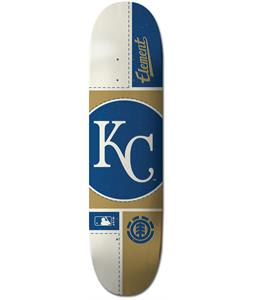 Element MLB Kansas City Royals Circle Skateboard Deck