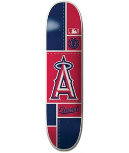 Element MLB Los Angeles Angels Square Skateboard Deck