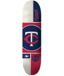 Element MLB Minnesota Twins Circle Skateboard Deck