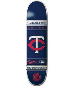 Element MLB Minnesota Twins Est. Skateboard Deck