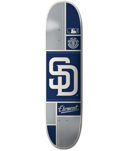 Element MLB San Diego Padres Square Skateboard Deck