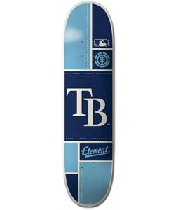 Element MLB Tampa Bay Rays Square Skateboard Deck
