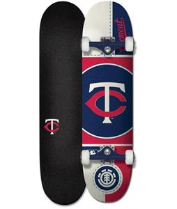 Element MLB Twins Skateboard Complete