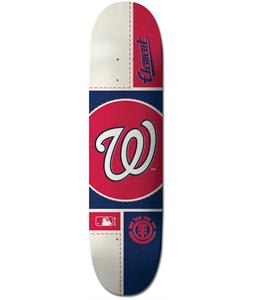 Element MLB Washington Nationals Circle Skateboard Deck