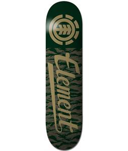 Element Tiger Script Skateboard Deck