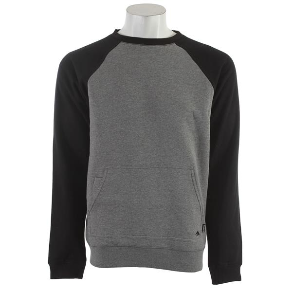 Emerica Triangle Crew Sweatshirt Grey / Heather U.S.A. & Canada