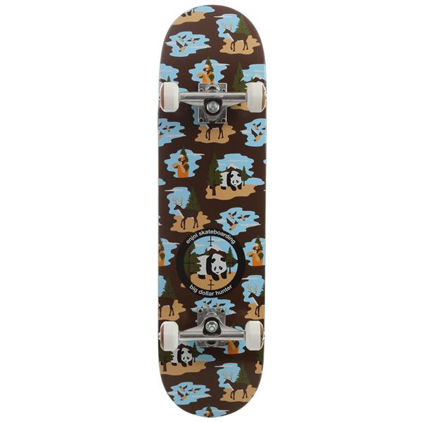 Enjoi Big Dollar Hunter V2 Skateboard Complete Brown U.S.A. & Canada