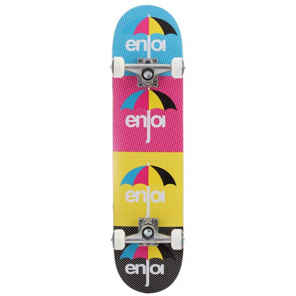 Enjoi Cmyk Skateboard Complete Multi U.S.A. & Canada