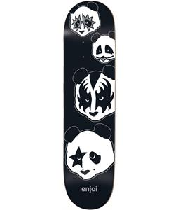 Enjoi Kiss Logo Skateboard Deck