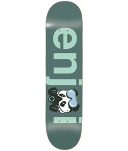 Enjoi No Brainer Gas Mask Skateboard Deck