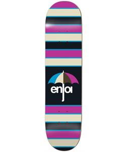 Enjoi Stripes Hybrid Skateboard Deck