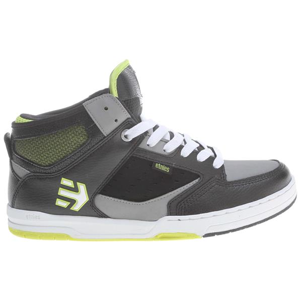Etnies Cartel Mid Bmx Shoes Black / Grey U.S.A. & Canada