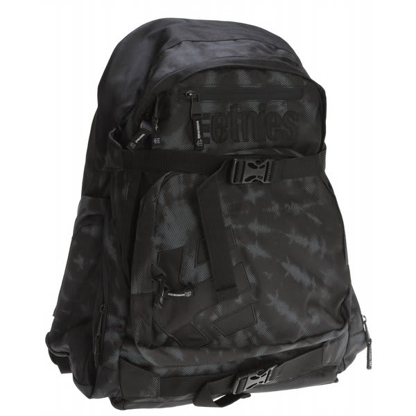 Etnies Drake Backpack Black / White U.S.A. & Canada