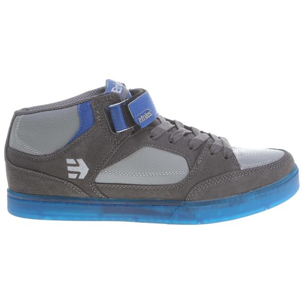 Etnies Number Mid Bmx Shoes Grey / Grey / Blue U.S.A. & Canada