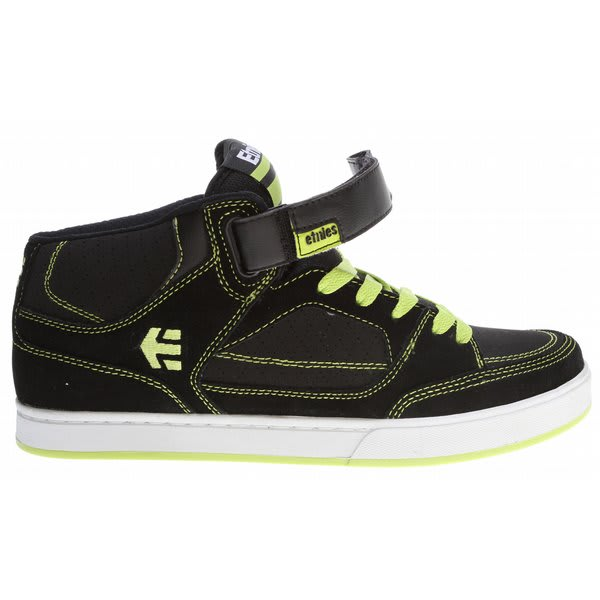 Etnies Number Mid Bike Shoes Black / Lime U.S.A. & Canada
