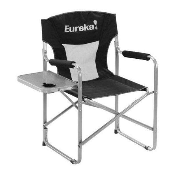 Eureka Directors Chair W / Side Table Camp Chair U.S.A. & Canada