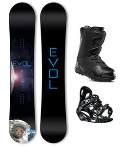 Evol Space Series Snowboard Package