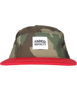 Faded Royalty 5 Panel Camper Cap