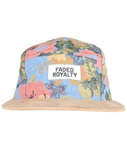 Faded Royalty 5 Panel Denim Print Cap