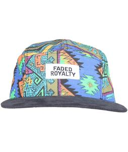Faded Royalty 5 Panel Jungle Cap