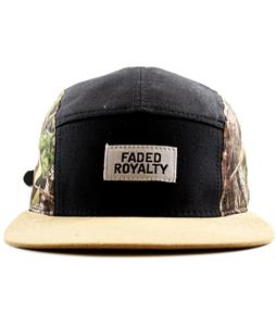 Faded Royalty 5 Panel Real Tree Side Cap