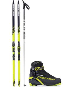 Fischer CRS Skate IFP XC Complete Ski Package + Poles