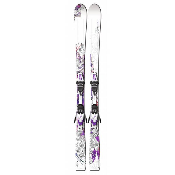 Fischer oa 73 Skis W / V9 Ms Bindings White / Pink U.S.A. & Canada