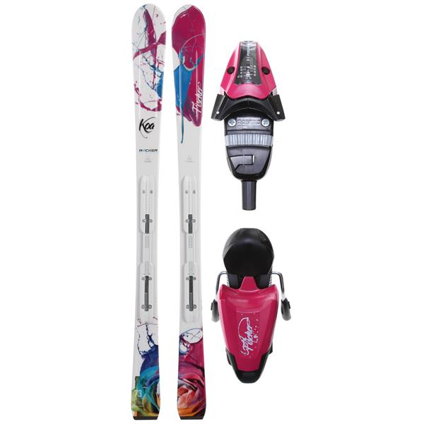 Fischer oa 73 Rf My Style Skis W / V9 Rf My Style Bindings Purple / Black U.S.A. & Canada