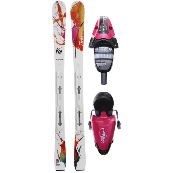 Fischer oa 75 Rf My Style Skis W / V9 Rf My Style Bindings Purple / Black U.S.A. & Canada