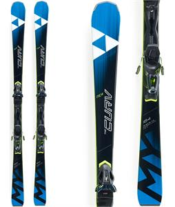 Fischer My Curv Skis w/ RC4 Z11 Powerrail Bindings