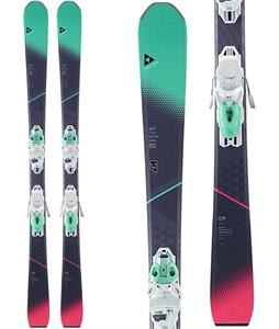 Fischer My MTN 80 Skis w/ My MBS 10 Powerrail Bindings