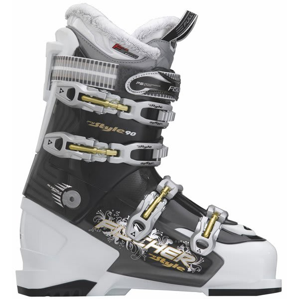 Fischer My Style 90 Ski Boots White / Grey Trans U.S.A. & Canada