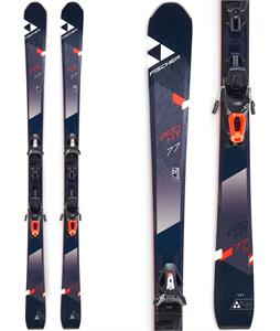 Fischer Pro MTN 77 Ti Skis w/ RS 10 PR Bindings