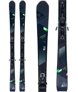 Fischer Pro MTN 80 Ti Skis w/MBS 12 Powerrail Bindings