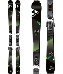 Fischer Pro MTN Fire Skis w/ RS 9 GW Bindings