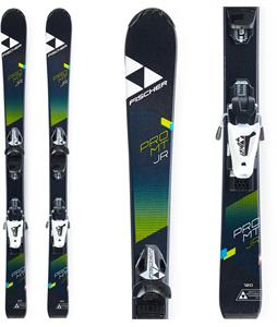 Fischer Pro MTN Jr. Skis w/ FJ4 AC SLR Bindings