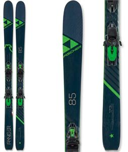 Fischer Ranger 85 Skis w/ RSW 11 GW Powerrail Bindings