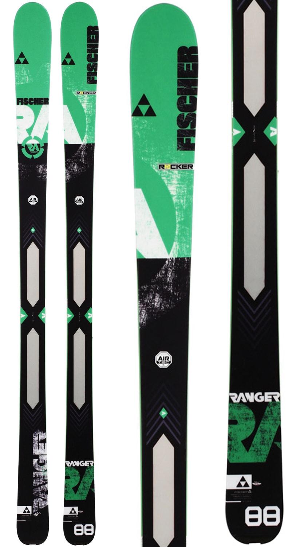 Fischer Ranger 88 Ti Skis 3b61e561f