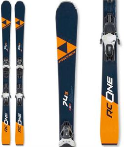 Fischer RC One 74 S Skis 165 w/ RS 10 GW Bindings