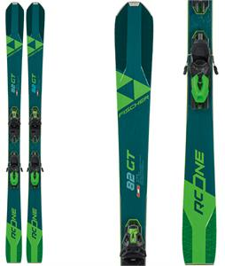 Fischer RC One 82 GT Skis w/ RSW 12 GW Bindings