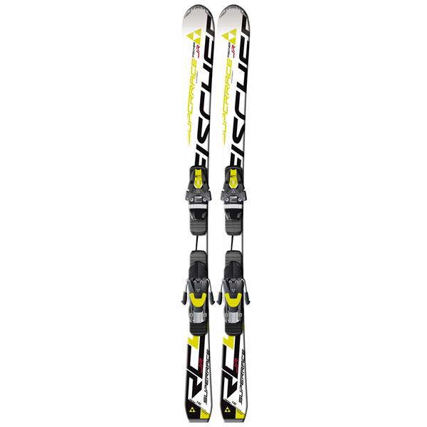 Fischer Rc4 Superrace Jr Rail Skis W / Fj7 Ac Junior Rail Bindings U.S.A. & Canada