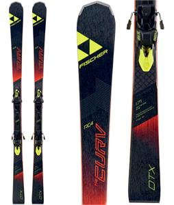 Fischer RC4 The Curv DTX Skis w/ RC4 Z12 Powerrail Bindings