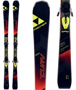 Fischer RC4 The Curv Ti Skis w/ RC4 Z12 Powerrail Bindings