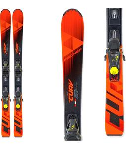 Fischer The Curv Jr. Skis w/ FJ7 GW AC SLR Bindings
