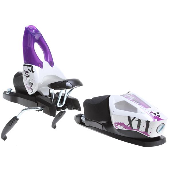 Fischer X 11 Wide Ski Bindings White / Purple 90Mm U.S.A. & Canada