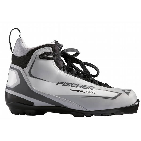 Fischer Xc Sport Cross Country Ski Boots Silver U.S.A. & Canada