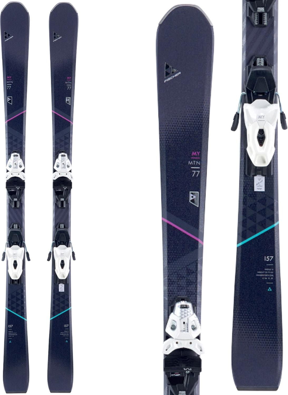 Fischer My MTN 77 Skis w/ My MBS 10 Powerrail Bindings 8951fimm8w1pwb18zz-fischer-ski-packages