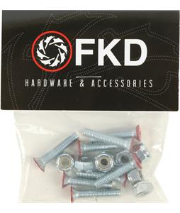 FKD Phillips Red 1in Skateboard Hardware