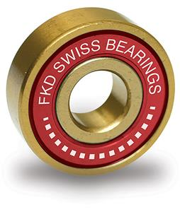 FKD Swiss Gold Skateboard Bearings