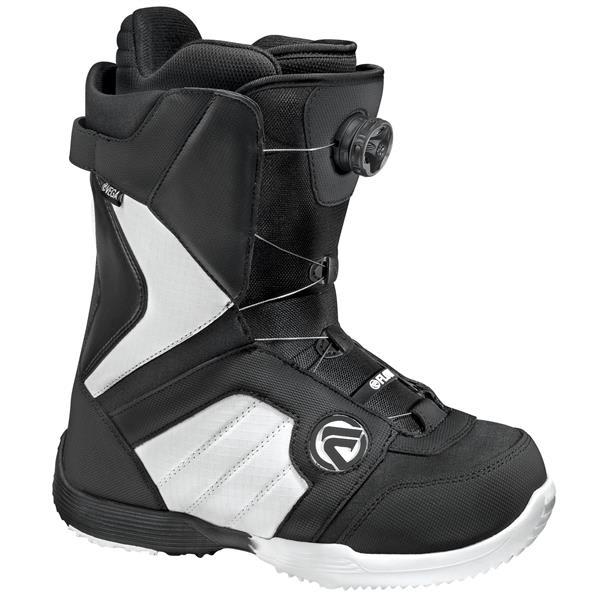 Flow Vega Boa Snowboard Boots Black / White U.S.A. & Canada